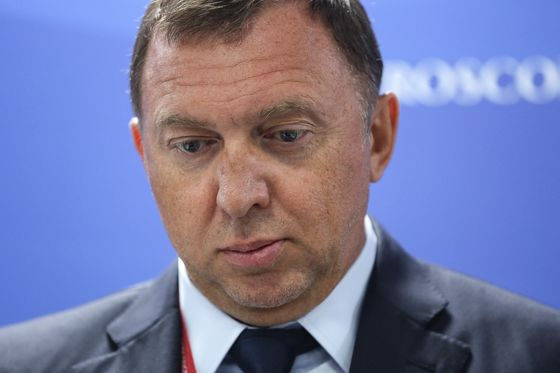 Deripaska's Rusal Role Was Flagged for U.S. Sanctions Review