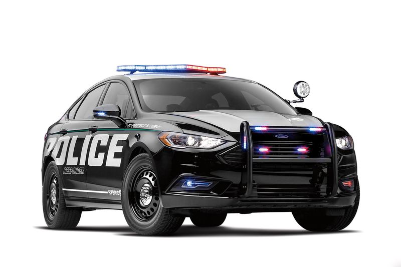 Warning To Crooks: New Ford Cop Car May Be Green, But Itu0027s Fast