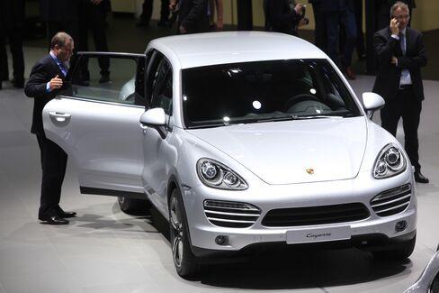 Porsche's Cayenne automobile