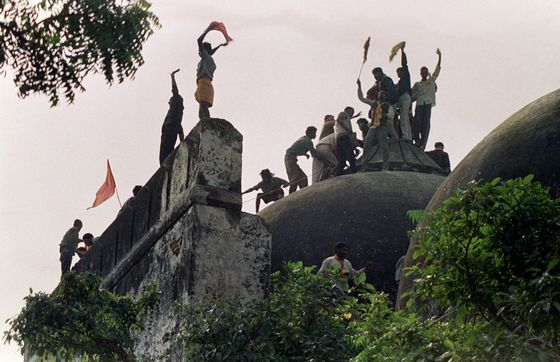 India's Top Court Hands Bitterly Disputed Ayodhya Site to Hindus