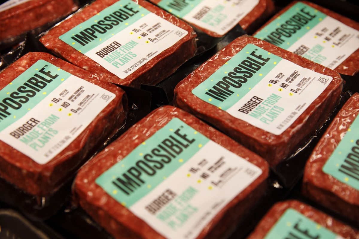 Impossible Foods Seeks to Sell Plant-Based Burgers in Europe