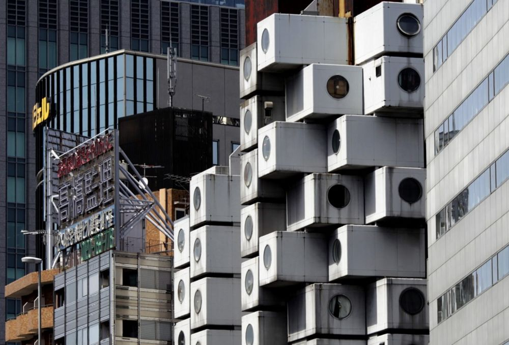 Tokyo S Famous Capsule Tower May Not Be Doomed Bloomberg