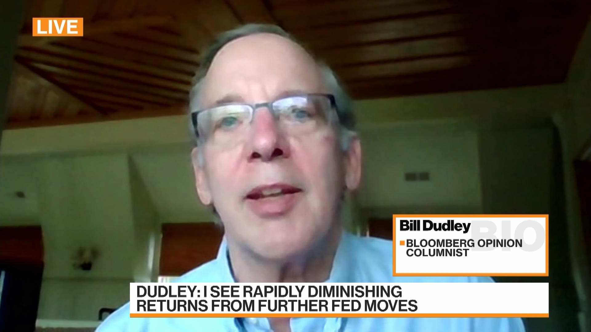 The Fed Is Really Running Out of Firepower: Bill Dudley