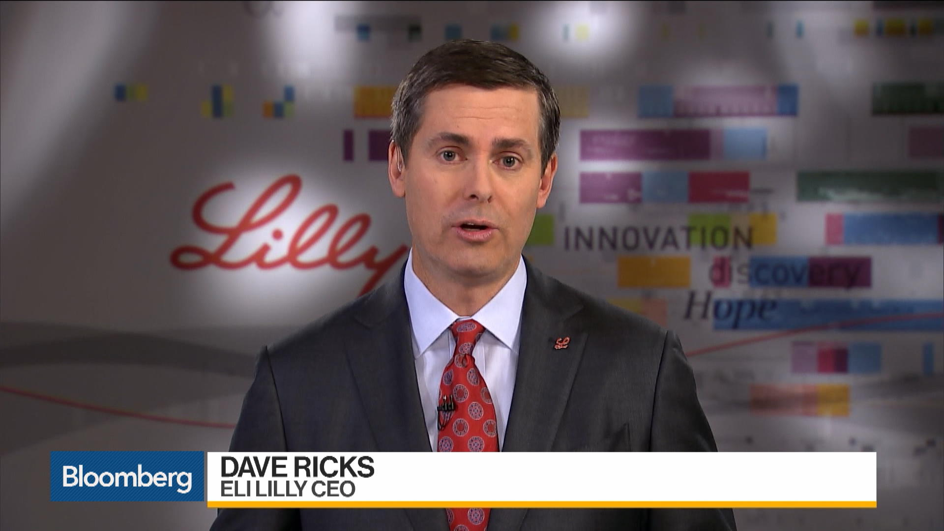 Earnings: Eli Lilly CEO on 3Q Results, Drug-Pricing Reforms