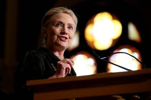Hillary Clinton in New York Hospital for Blood-Clot Treatment
