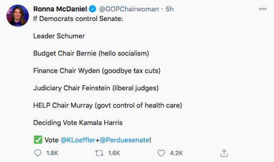 Trump Wants McDaniel to Return as GOP Leader: Election Update