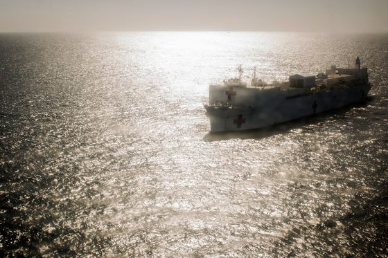 Venezuelan Migrants'Best Hope for Hospital Care Is a U.S. Navy Ship