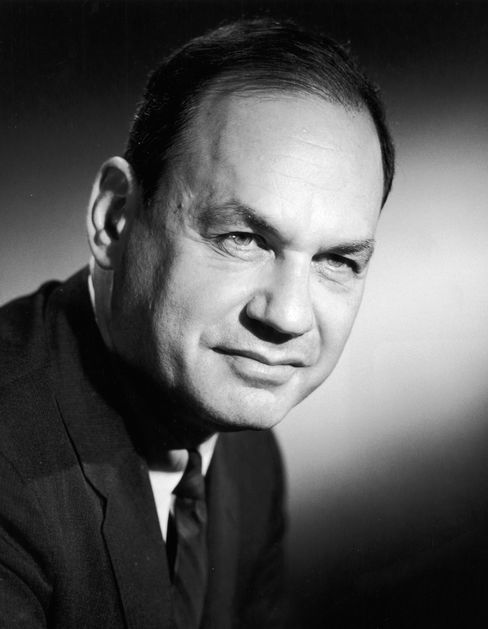 NBC Television Newsman Edwin Newman