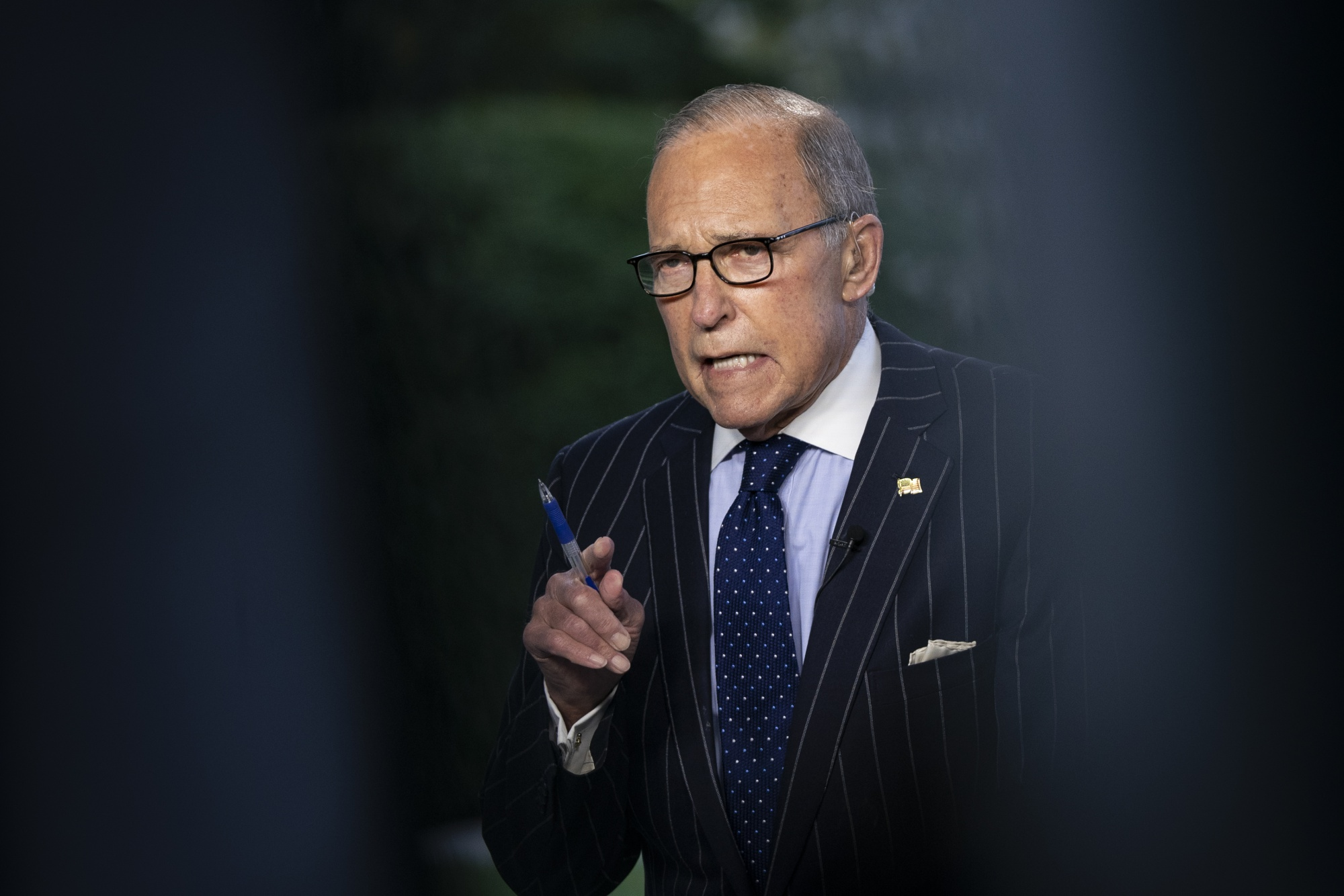 National Economic Council Director Larry Kudlow Speaks At White House