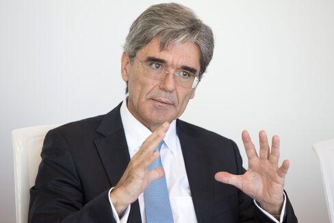 Siemens CEO Joe Kaeser