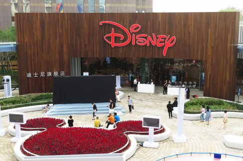 China's First Disney Flagship Store