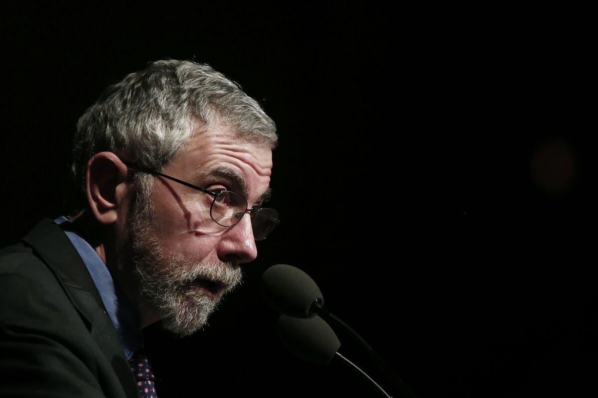 Krugman Says It's 'Hard to See' How U.S. Can Halt Prosperity Gap