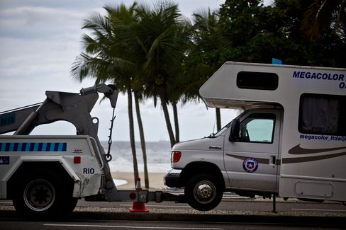 Rio Evicts World Cup Campers From Copacabana