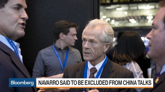 Peter Navarro and Steven Mnuchin feuded at Beijing trade talks