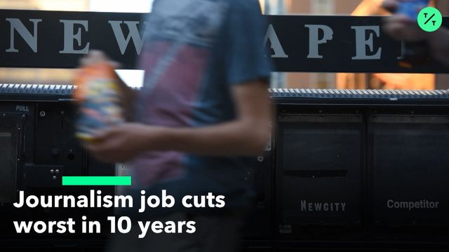 JournalismJob Cuts Haven't Been This Bad Since the Recession