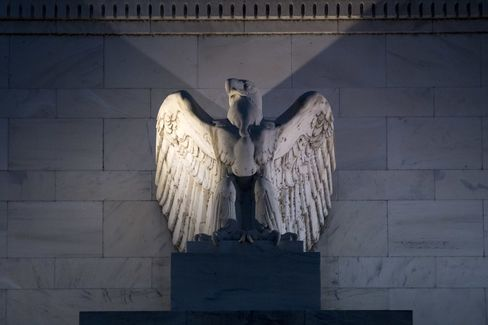 Federal Reserve Building In Washington.