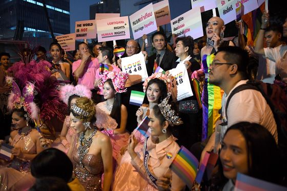Thailand's Tourism Industry Looks to Cash In on Same-Sex Partner Law