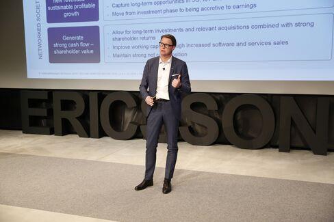 Hans Vestberg at Ericsson Studio on July 19.