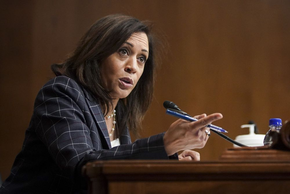 Kamala Harris S Police Reform Push Becomes Running Mate Tryout Bloomberg