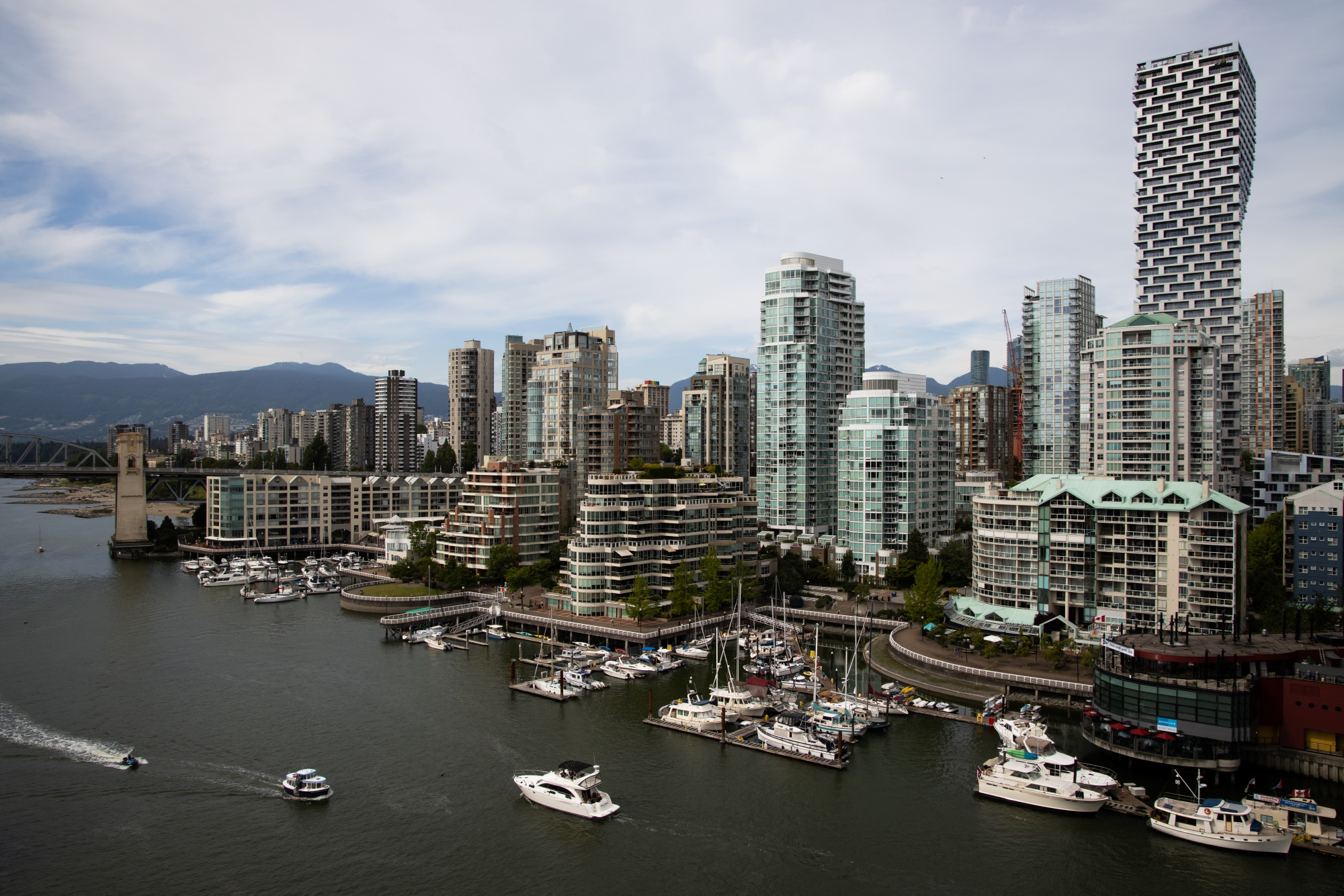 Views Of Vancouver Ahead Of GDP Figures