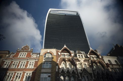 London's Walkie Talkie Tower