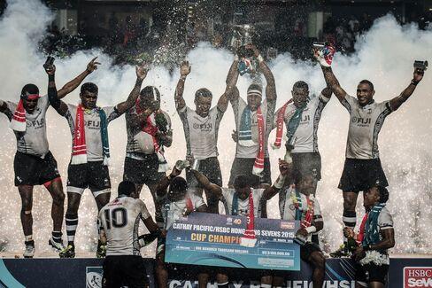 Fiji team in 2015