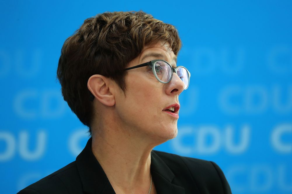 Merkel Picks AKK to Take Over Troubled German Defense Ministry