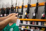 Knob Creek Gun Range And Store As Sales Reach Record Pace