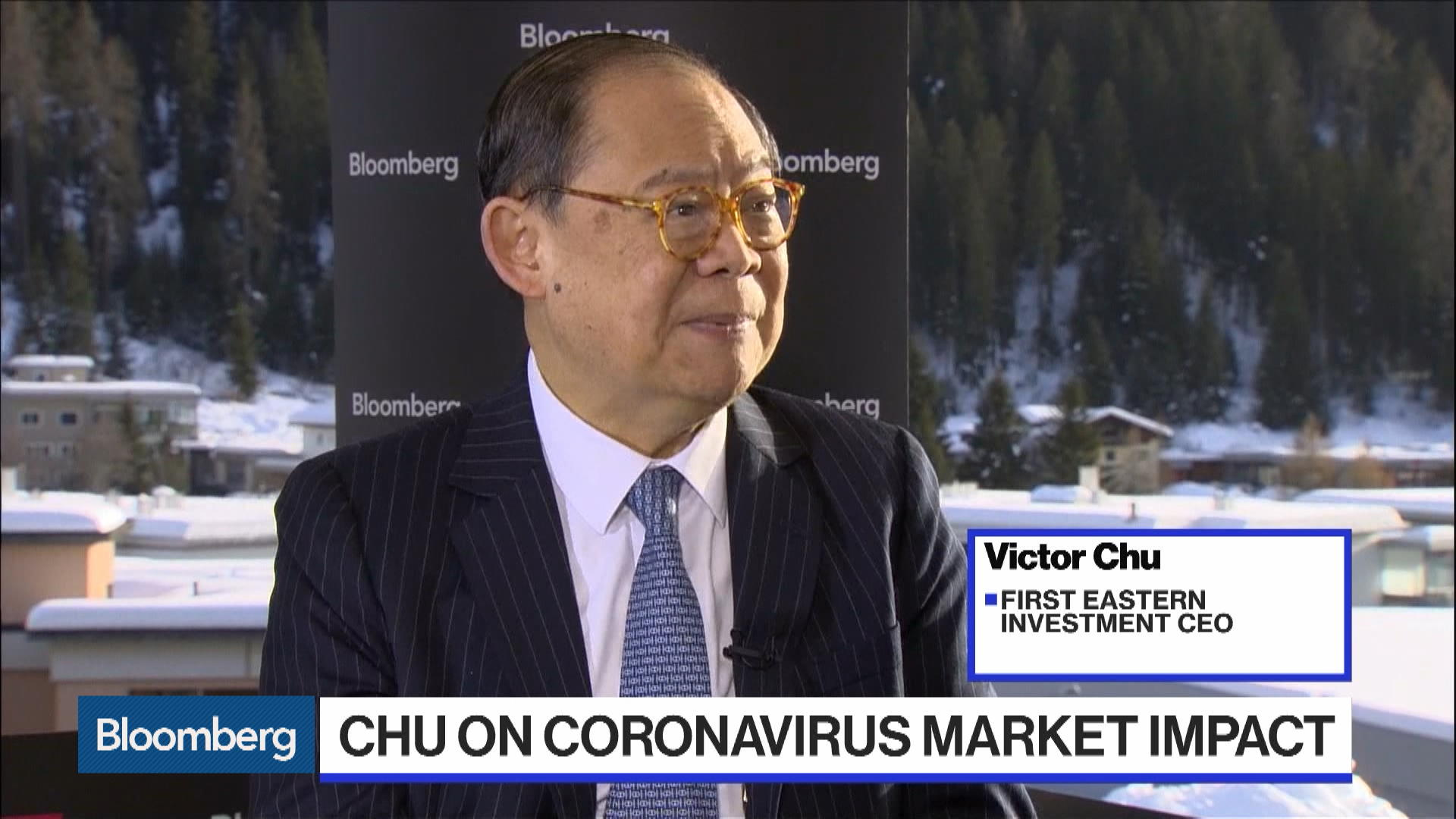 Davos: First Eastern Chairman Victor Chu