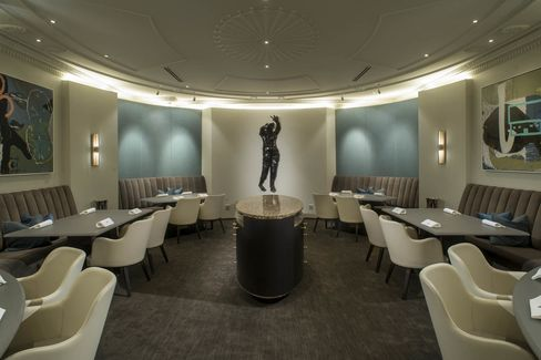 The newly renovated interior of Alinea, Chicago, which climbed 11 spots to No. 15 this year.