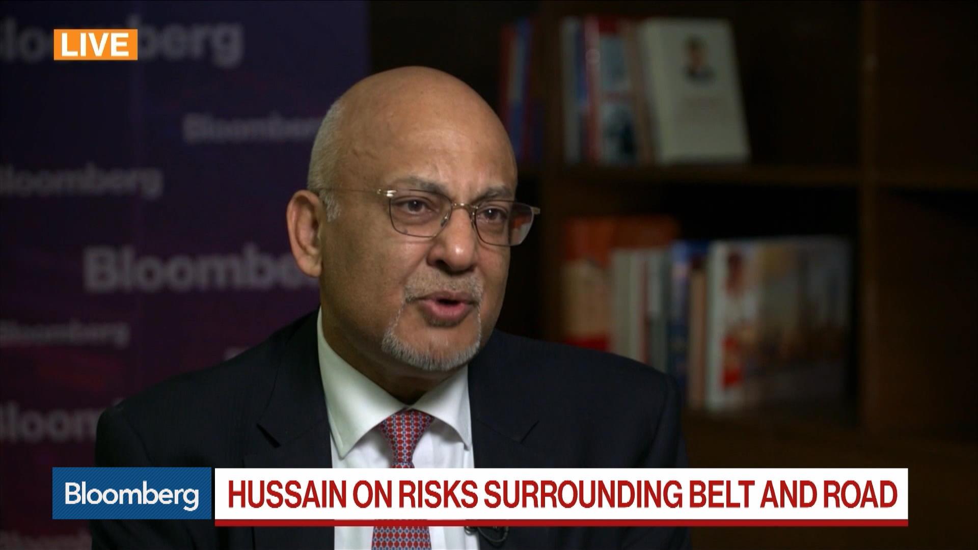 HSBC's Hussain on China's Belt & Road Initiative, Project Risks, HSBC Benefit