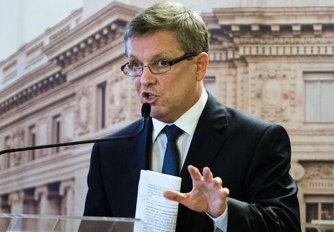 Hungary's Central Bank President Gyorgy Matolcsy