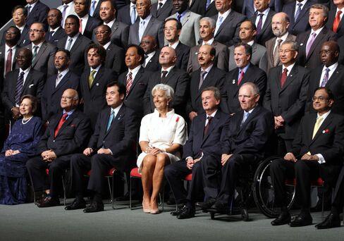 IMF Tokyo Meetings Show World Leadership Gap, Korea's Bahk Says