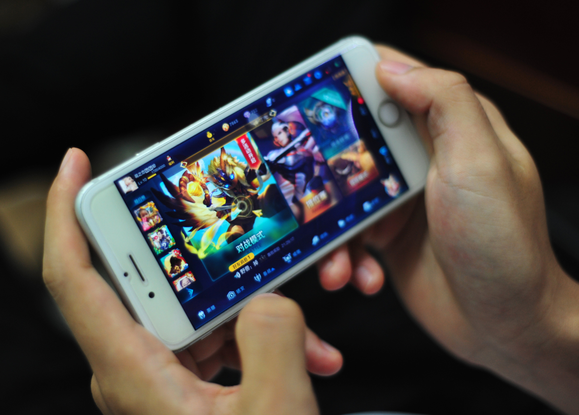 tencent is bringing its most successful mobile game to the u s and