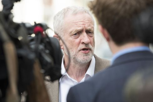 Jeremy Corbyn Visits Maesteg Ahead of The Welsh Assembly Elections
