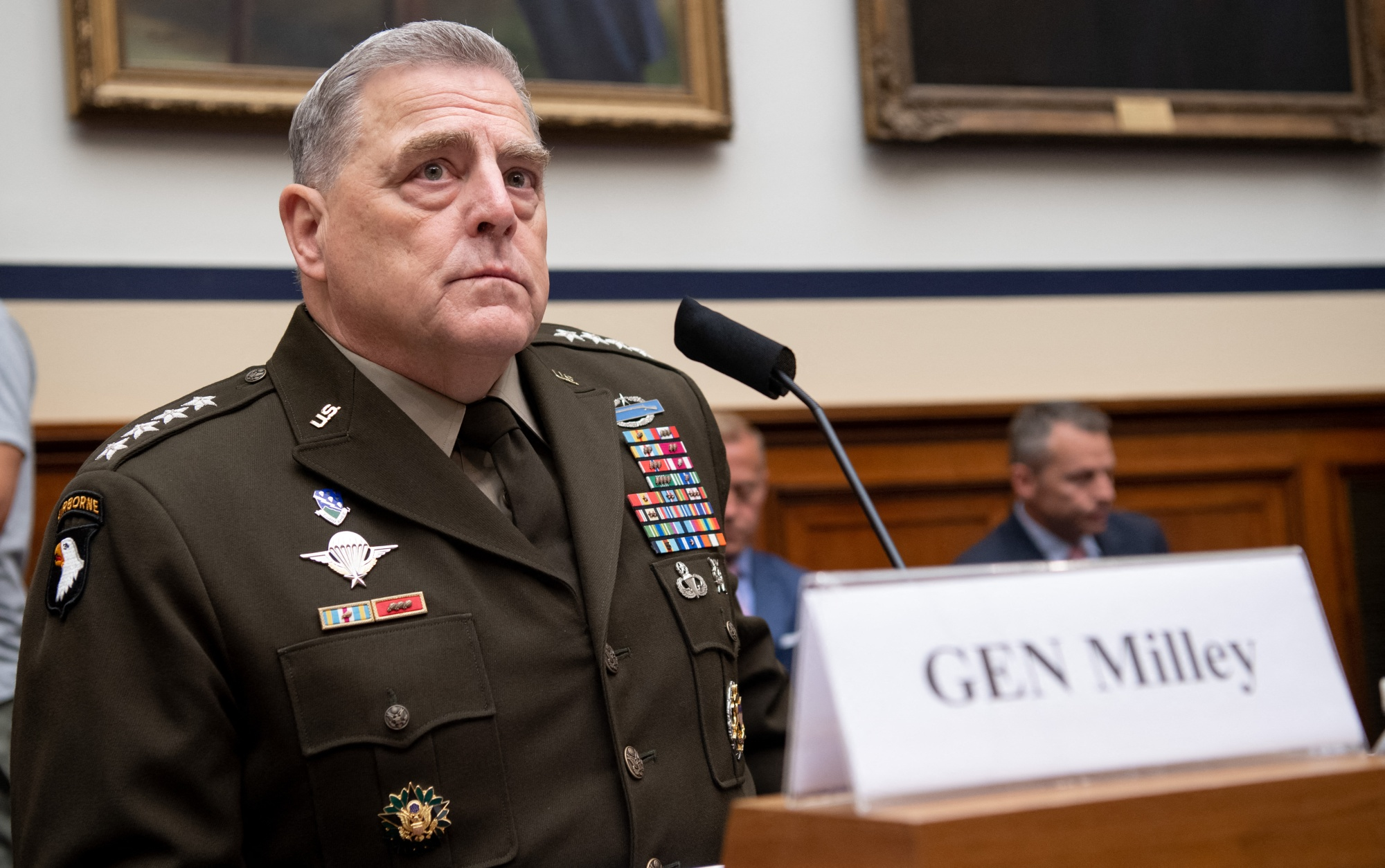 I Know General Mark Milley and He Was Just Doing His Job Calling China -  Bloomberg