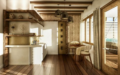 Inside Sandals' new overwater bungalows.