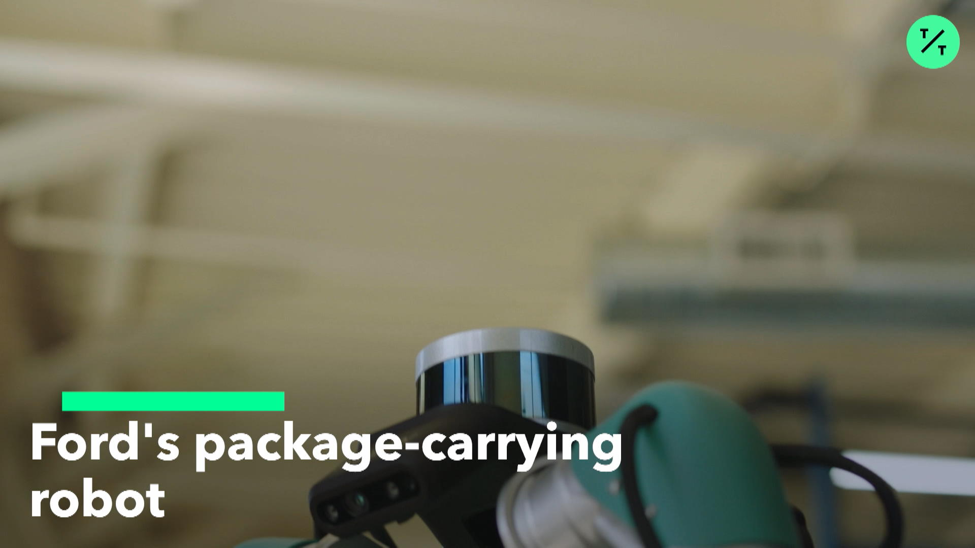 Ford's Package-Carrying Robot