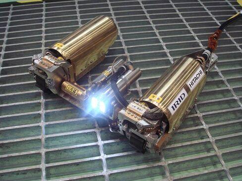 Robot that monitors Fukushima reactor no. 1.