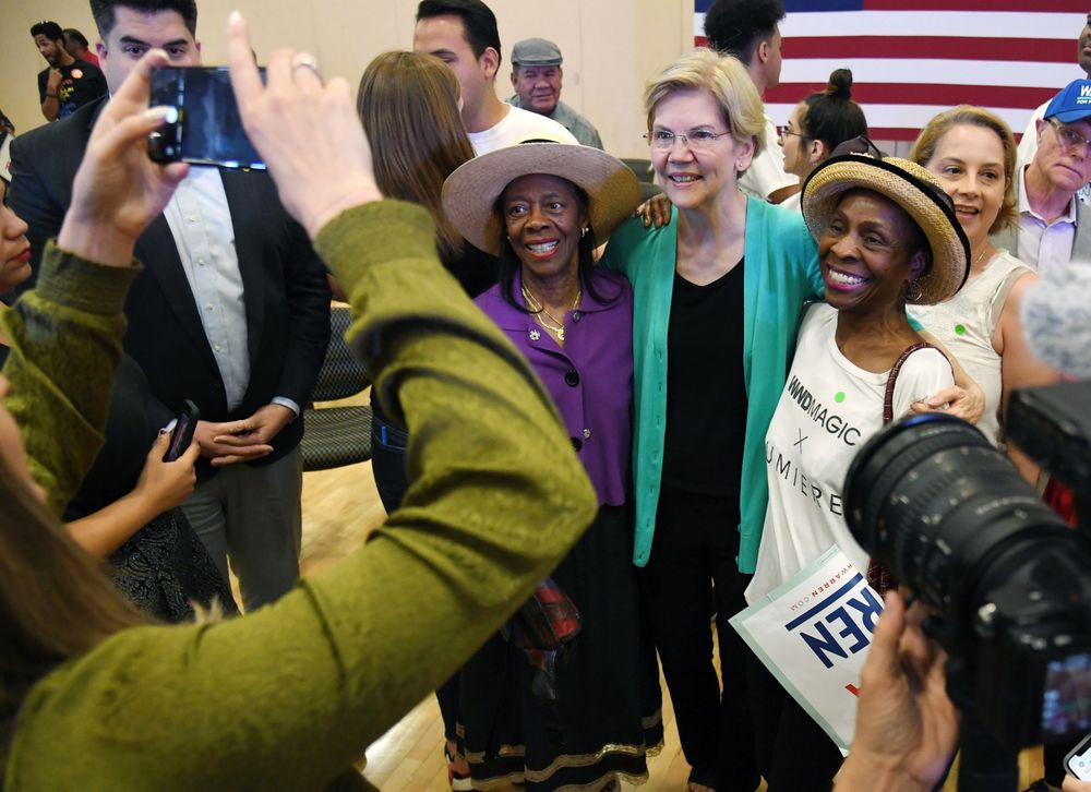 With Policy and Outreach, Elizabeth Warren Makes Inroads With Black Voters