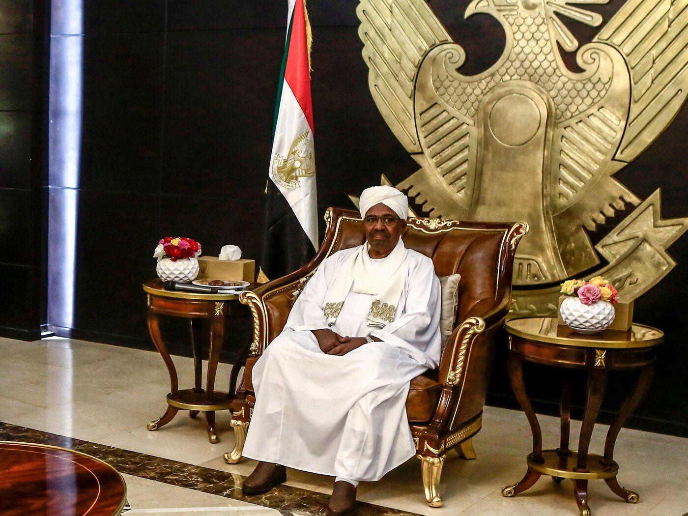 Omar al-Bashir in Khartoum in 2019.
