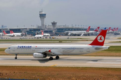 TURKEY-AVIATION-TRANSPORT-ECONOMY-STRIKE