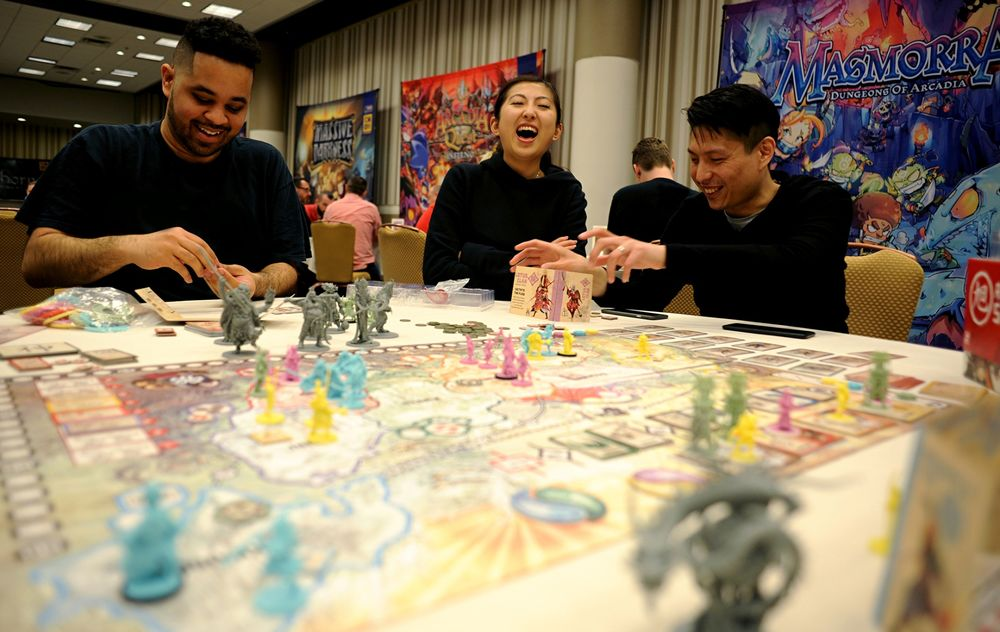 This Board-Gaming Craze Comes With $2,700 Tables - Bloomberg
