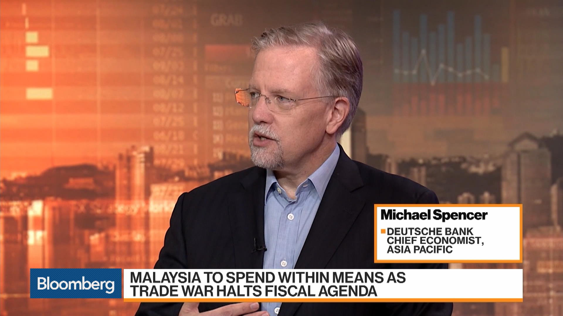 Michael Spencer, chief economist for Asia Pacific at Deutsche Bank, on Economies, Policies