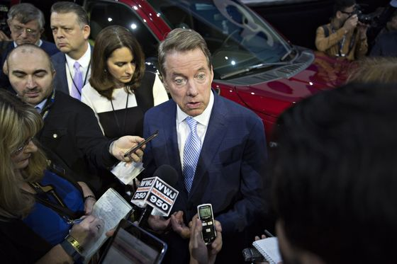 Ford Shareholders Air Grievances to Management