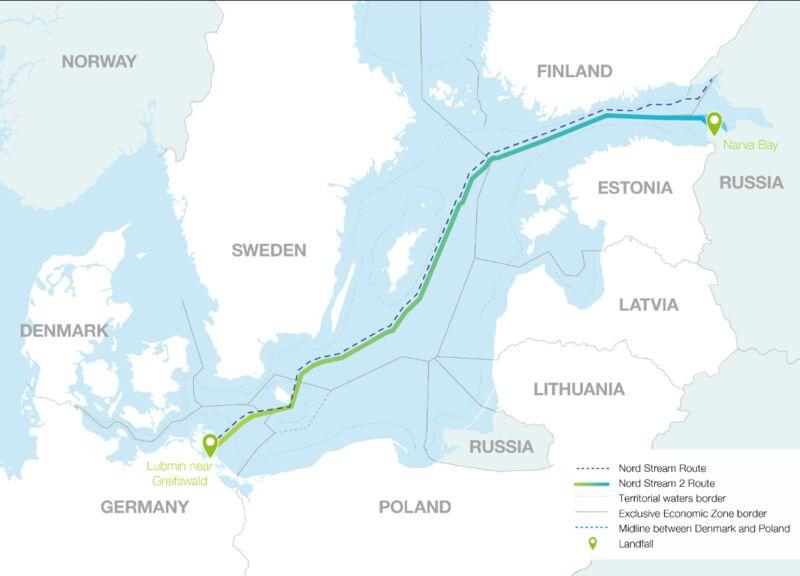 Германия зависима от русского газа