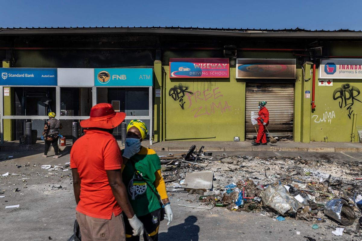 South Africa Considering Payment of Relief Grant After Riots