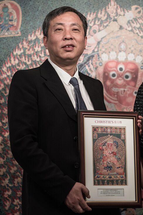 Art Collector Liu Yiqian