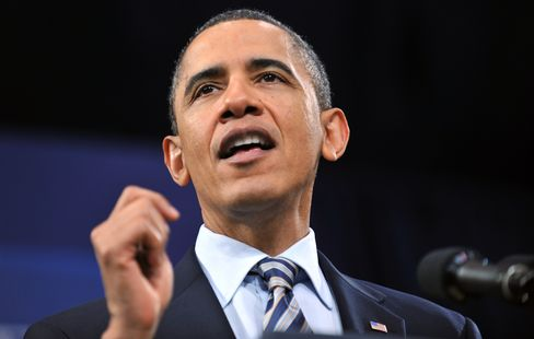 Obama Meets With Security Team After Mubarak Speech