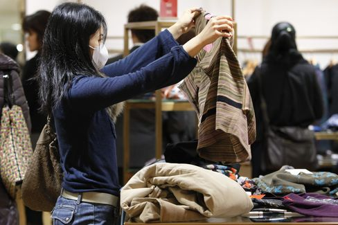 Japan's Retail Sales Grow at the Fastest Pace Since Aug.2010